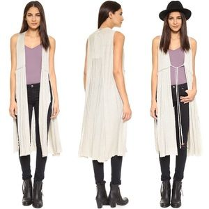 Free People Baja Escape Cardigan Wrap Medium
